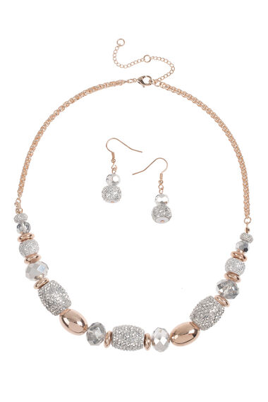 Muse Sparkle Necklace and Earring Set