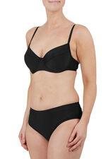 Plain Black Underwired Bikini Top