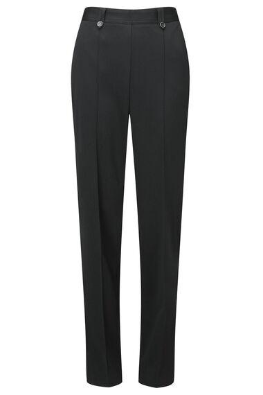 Herringbone Tab Button Trousers