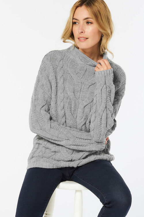 Cosy Cable Jumper