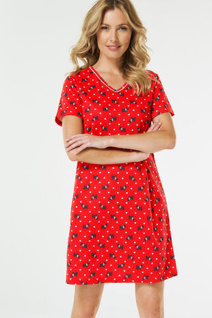 Red Scotty Dog Nightdress