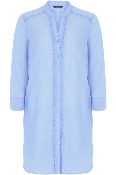 Pure Cotton Lightweight Chambray Shirt