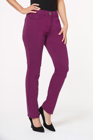 Susie Slim Leg Coloured Jean