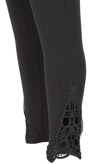 Lace Hem Detail Legging