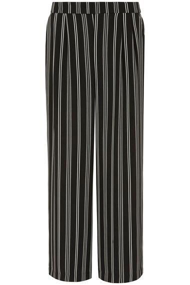 Wide Leg Stripe Trouser