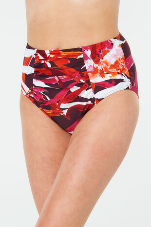 Tropical High Waist Brief