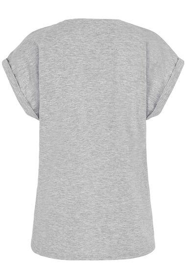 Lace Yoke T-Shirt