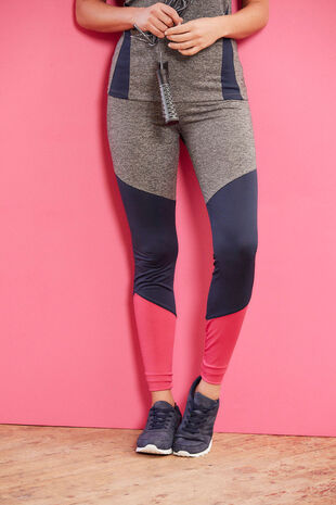 NVC Activewear Colourblock Capri Sports Legging