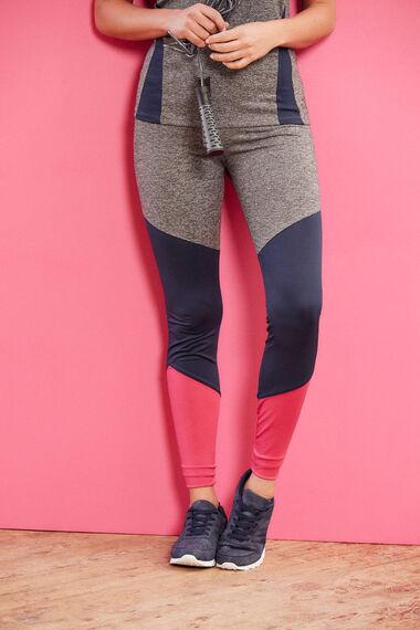 NVC Activewear Colourblock Capri Sports Legging