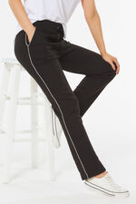 Regular Jog Pant with Contrast Piping