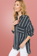 NaraWoman Stripe Shirt