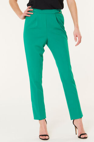 Scuba Crepe Tapered Trouser