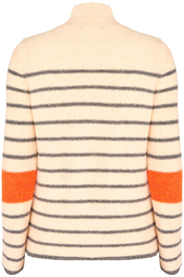Join Us Stripe Turtle Neck