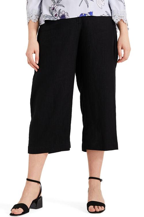 Studio 8 Caila Linen Crop Trousers