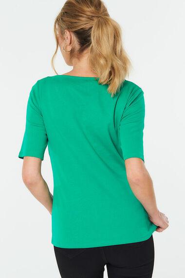 Half Sleeve Plain T-Shirt