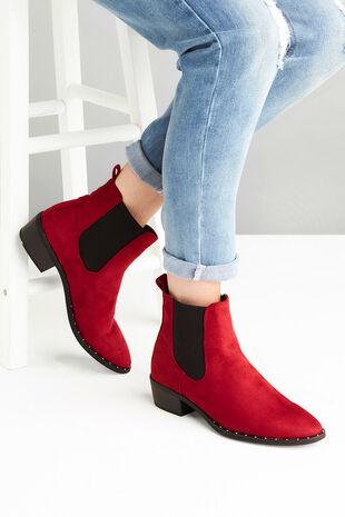 Krush Studded Western Boot