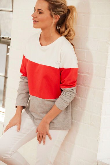 NVC Activewear Colourblock Sweatshirt