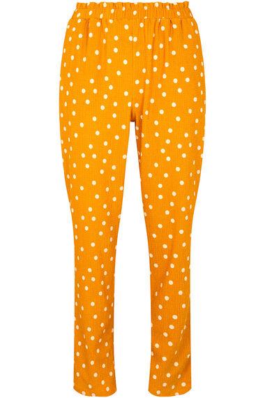 Grace By Eda Pull On Mini Dot Trouser