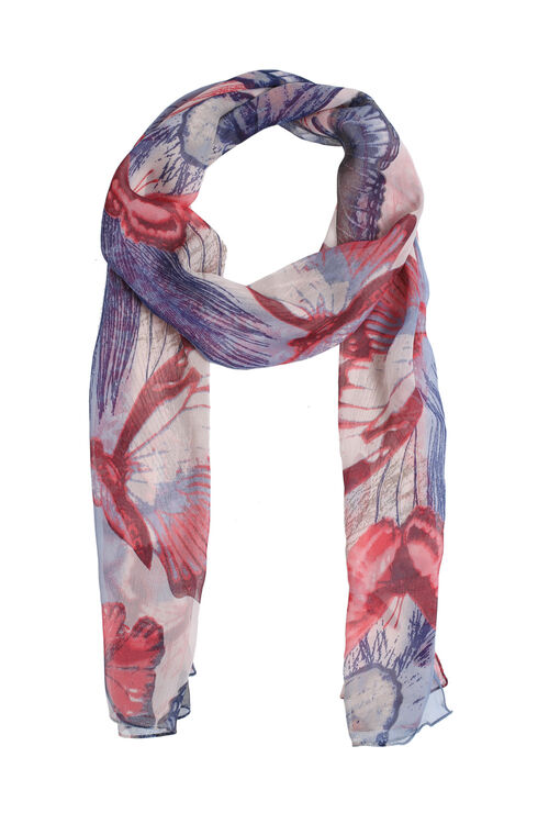 Muse Butterfly Print Scarf