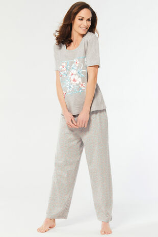 Floral Placement Gift Pyjama Set