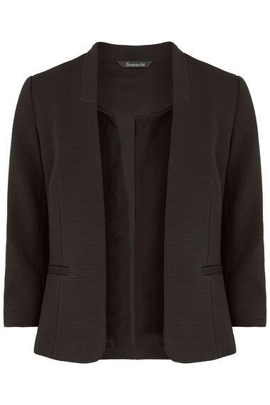 Jersey Ribbed Jacket