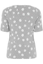 Scoop Floral Print T-Shirt