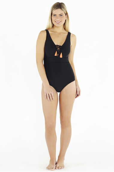 Beachcomber Lace Up Swimsuit