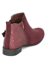 Krush Glitter Detail Ankle Boot