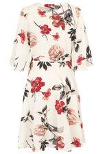 Izabel Floral Wrap Dress