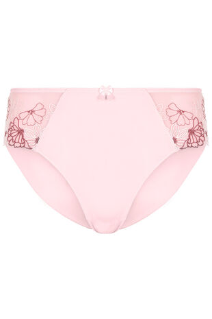 Floral Embroidered Side Briefs