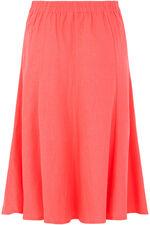 Linen Blend Skirt