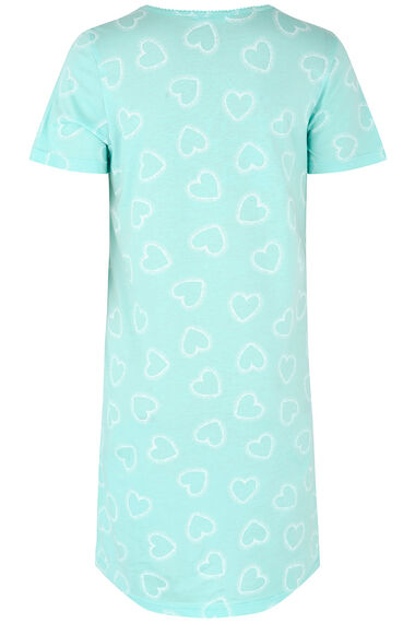 Heart Print Nightdress