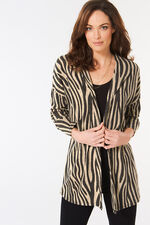 Zebra Print Cover Up