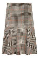 Check Ponte Flippy Skirt