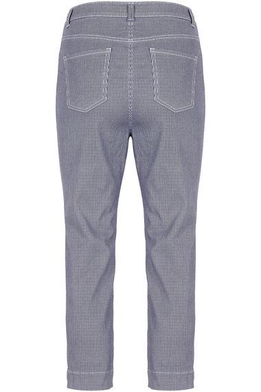 Striped Capri Trousers