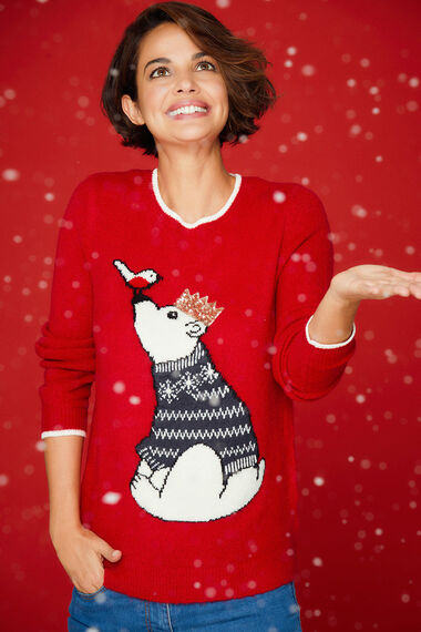 Polar Bear Christmas Jumper