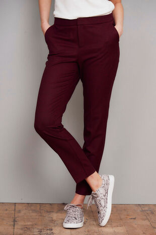 Salvari Slimline Mini Check Trouser
