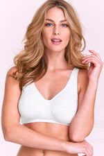 Embroidered Cup Control Bra