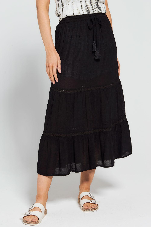"HALF SLIP UNDER SKIRT BLACK  CIRCLE SHINY size 10 14 16 20   length 17 18 19/"""