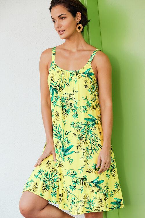Jungle Print Sundress