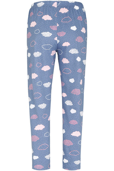 Cloud Print Pyjama Set
