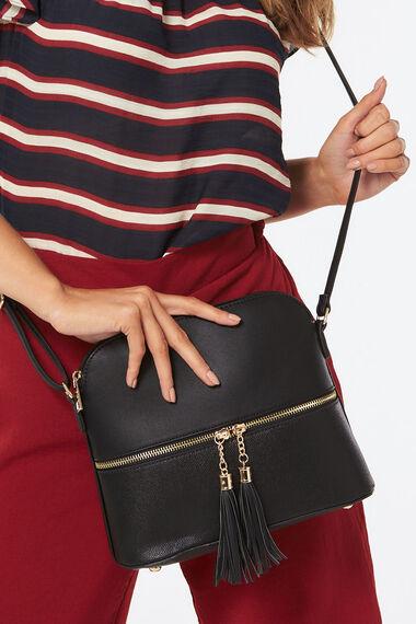 PL Handbags Cross Body Tassel Bag