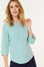 Cotton Zip Back Tunic