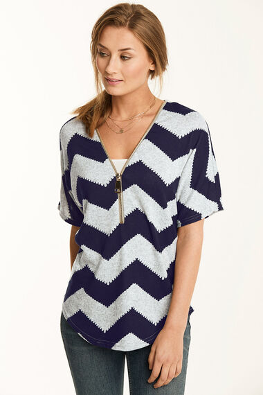 Zig Zag Soft Touch Sweat