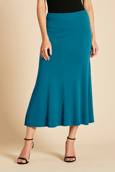 Cut About Jersey Crepe Skirt