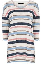 Stripe Textured Tunic