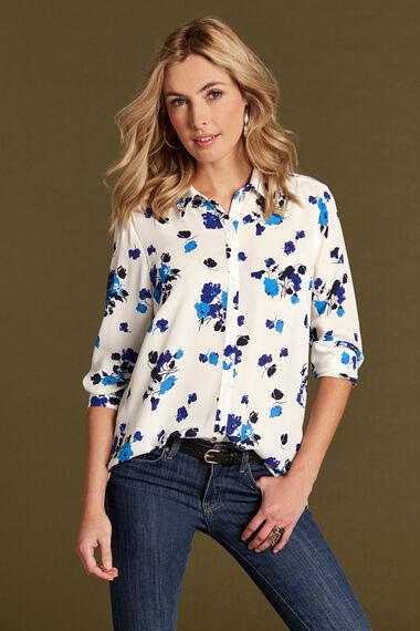 Longline Printed Shirt