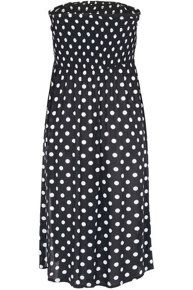 Spot Print Multiway Beach Dress