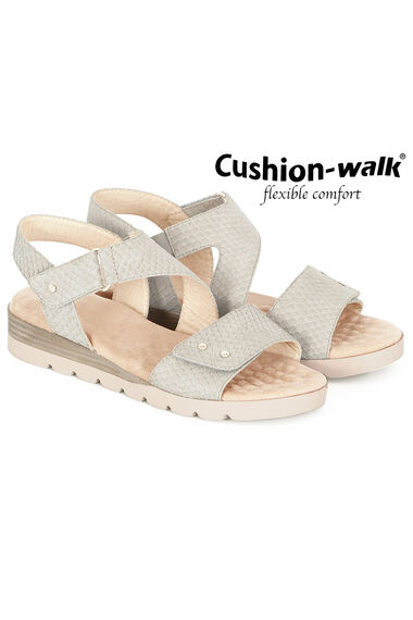 Cushion Walk Madrid Mock Snake Sandal