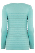 Ripple Pointelle Sweater